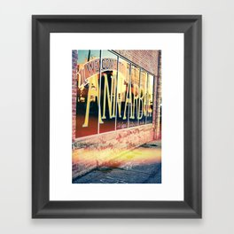 The Biggest Little City In The Middle, Ann Arbor Michigan Framed Art Print