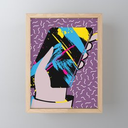 THE  BOOK OF ANSWER Framed Mini Art Print