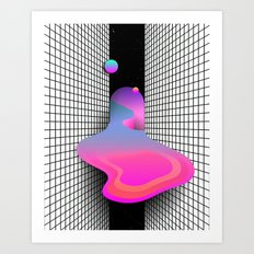 LE DEVERSEMENT Art Print
