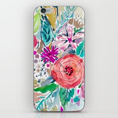 High by the Beach Floral iPhone & iPod Skin