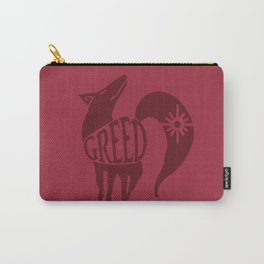 The Fox's Sin of Greed Carry-All Pouch
