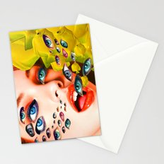 What You looking at? (collage) Stationery Cards
