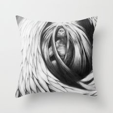 Angel 2 Throw Pillow