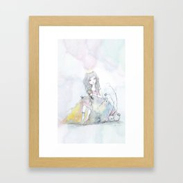 Princess 100 Framed Art Print