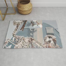 Peregrine Falcon and Kestrels Rug