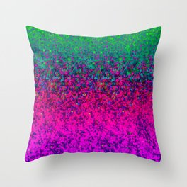 Glitter Dust Background G177 Throw Pillow
