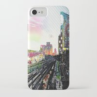 san diego iPhone & iPod Cases featuring San Diego  by Jennifer Silcott