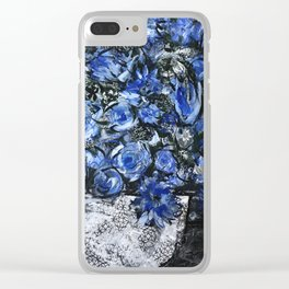 Overflowing Clear iPhone Case