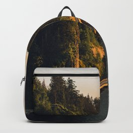 A Curvy Park - Vancouver, British Columbia, Canada Backpack
