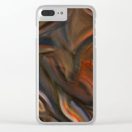 Seated Torso Clear iPhone Case