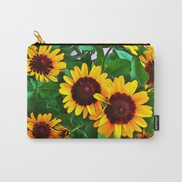 Black Eyed Susans PO Carry-All Pouch
