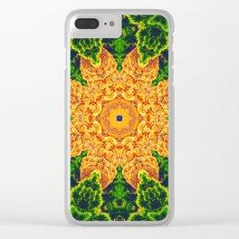 Mystic Desert Mandala Clear iPhone Case