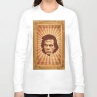 nick cave Long Sleeve T-shirts featuring Cave by Durro