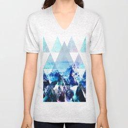 Snow Top Unisex V-Neck