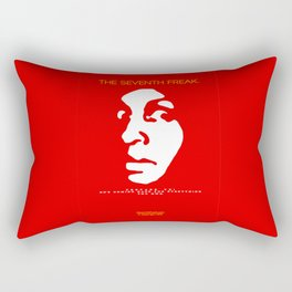 The Freaky Red Poster Rectangular Pillow