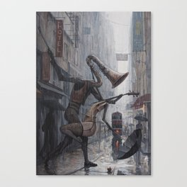 Life is a Dance in The Rain III Canvas Print