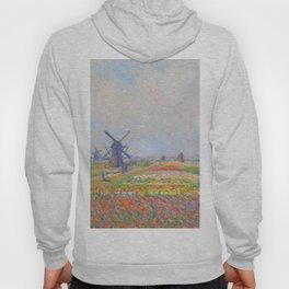 "Claude Monet ""Tulip Fields near The Hague"" Hoody"