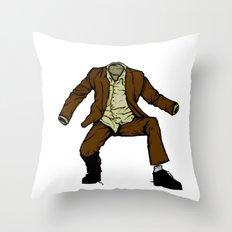 el hombre invisible Throw Pillow