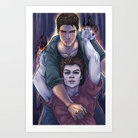 daunt Art Prints featuring Possessed and Possession by Daunt
