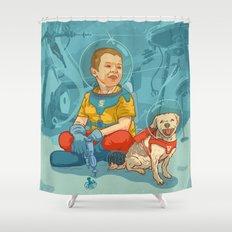 Simi & Vaci Shower Curtain