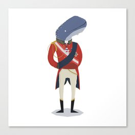 The Duke of Whalington Canvas Print