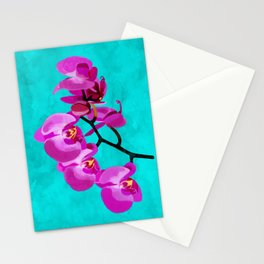 Orchid pink Stationery Cards