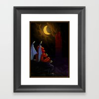 Pixel Art series 4 : Demon Framed Art Print