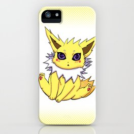 electric type cup iPhone Case