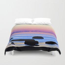 Remembering the Sunset Duvet Cover