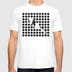 INVISIBLE WOMAN Mens Fitted Tee White SMALL