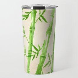 Bamboo Pattern Travel Mug