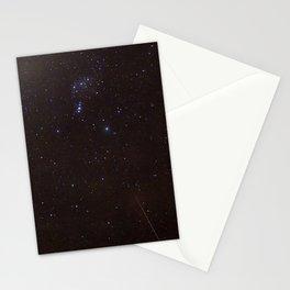 Watercolor Nightscape, Moraine Park 04, RMNP, Colorado Stationery Cards