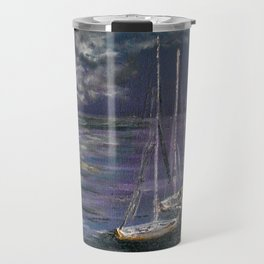 By the Light of the Silvery Moon Travel Mug