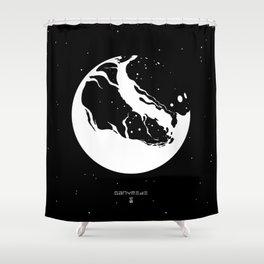 GANYMEDE Shower Curtain