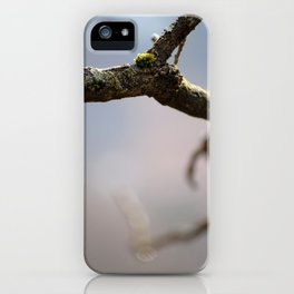Morning moss iPhone Case