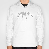 spider Hoodies featuring Spider by Jessica Slater Design & Illustration