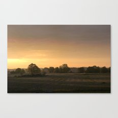 Sunrise in August Canvas Print