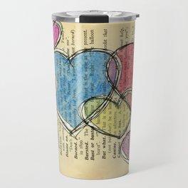 Family Of Hearts Travel Mug