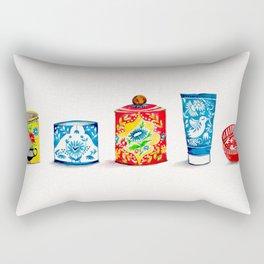 Jars Lineup Rectangular Pillow