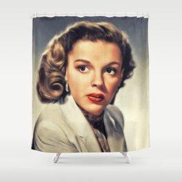 Judy Garland, Hollywood Legend Shower Curtain