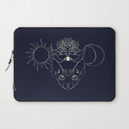 Moonight cat Laptop Sleeve