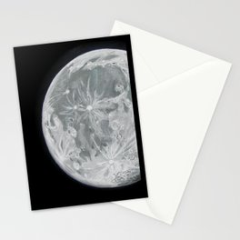 Moon Portrait 2 Stationery Cards