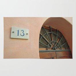 13 - Wrought Iron Door Rug