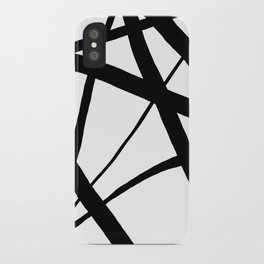 A Harmony of Lines and Shapes iPhone Case
