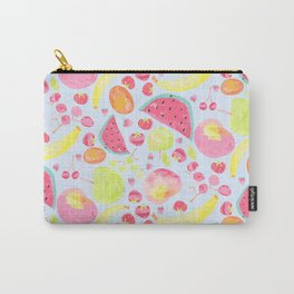 Water colour fruit salad Carry-All Pouch