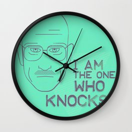 Breaking Bad - Faces - Walter White Wall Clock