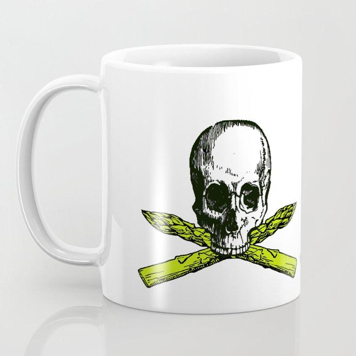 skull asparagus Coffee Mug