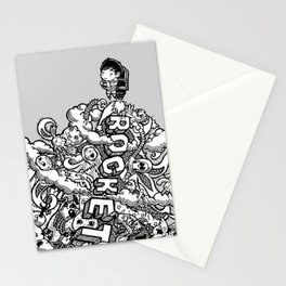 Rocketeer Stationery Cards