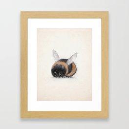 little bumble bee Framed Art Print