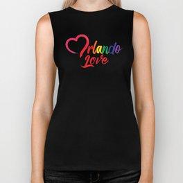 Heart Orlando Love Biker Tank